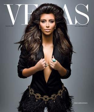 Lwia grzywa Kim Kardashian