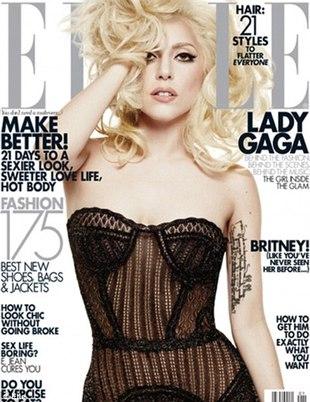 Zdjęcia z sesji Lady GaGi dla Elle (FOTO)