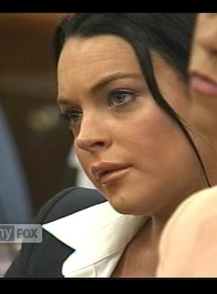 Lindsay Lohan na rozprawie sądowej (VIDEO)