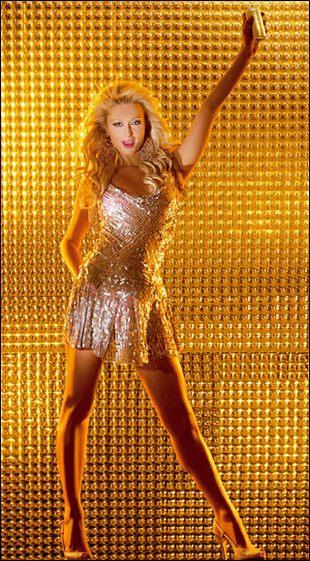 Paris Hilton pozuje dla Rich Prosecco