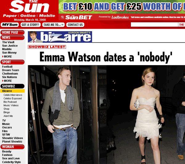 Emma Watson ma tajemniczego faceta