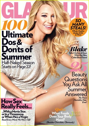 Blake Lively w Glamour (FOTO)