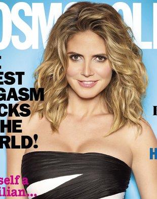 Ile lat odjęli Heidi Klum na okładce Cosmo? (FOTO)