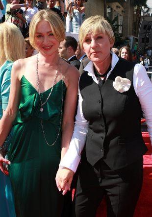 Ellen DeGeneres i Portia De Rossi już po ślubie
