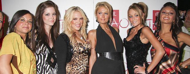 Paris Hilton i jej nowe przyjaciółki (FOTO)