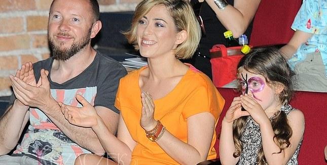 Gwiazdy z dziećmi na premierze sztuki (FOTO)