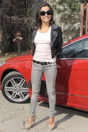 Anna Mucha parkuje, gdzie jej się podoba (FOTO)