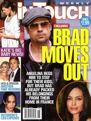 Brad Pitt mieszka już sam
