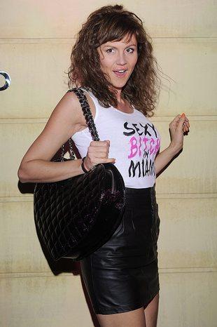 Sexy bitch in Miami – kto przyszedł w takiej koszulce? FOTO