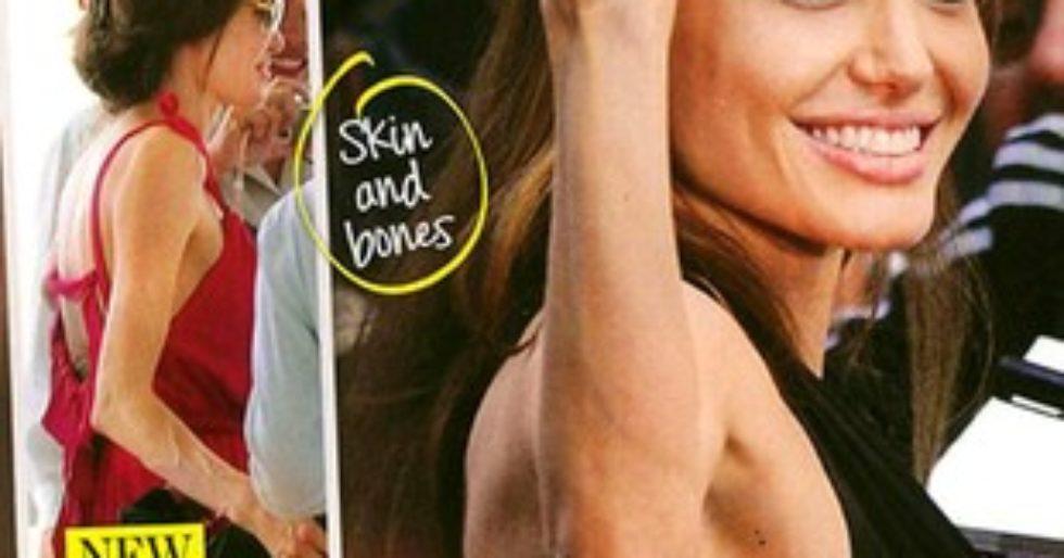 Angelina Jolie nie chce jeść - Kozaczek