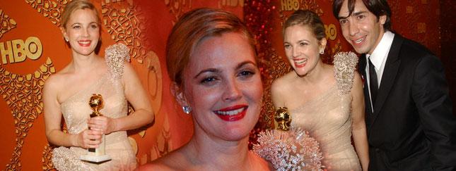 Drew Barrymore podwójnie szczęśliwa (FOTO)