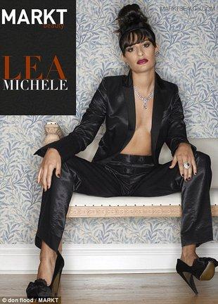 Lea Michele zaczyna się rozbierać (FOTO)