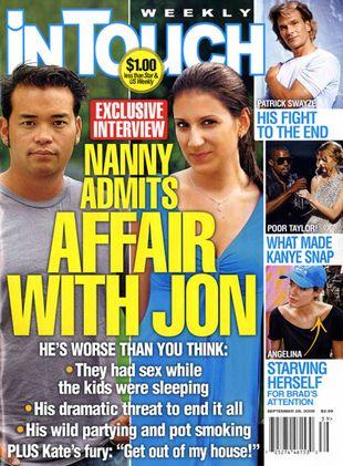 Jon Gosselin romansował z nianią