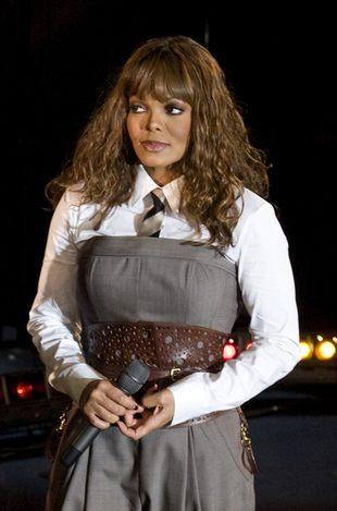 Janet Jackson w szpitalu