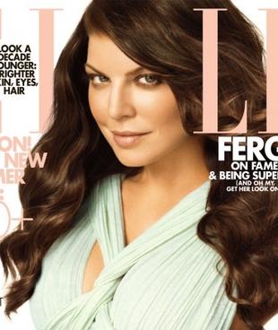 Wymuskana Fergie w nowym Elle (FOTO)