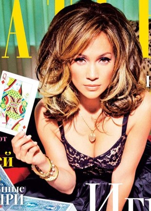 Jennifer Lopez w rosyjskim Tatlerze (FOTO)