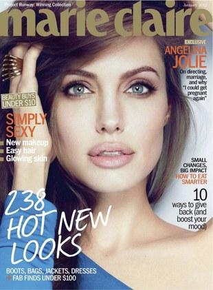 Angelina Jolie w Marie Claire (FOTO)