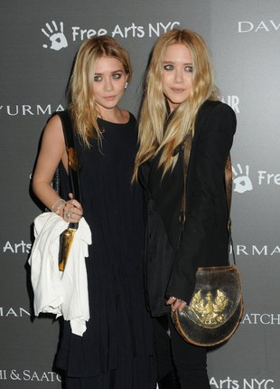 Czy siostry Olsen wyglądały kiedyś jak małpki? (FOTO)