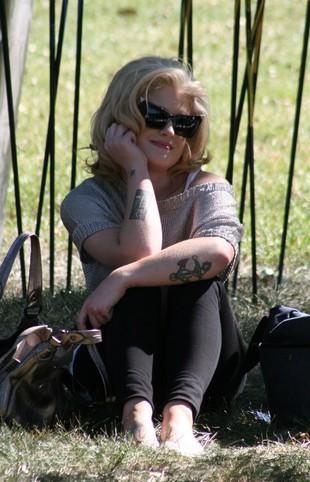 Kelly Osbourne z twarzą Marilyn Monroe (FOTO)