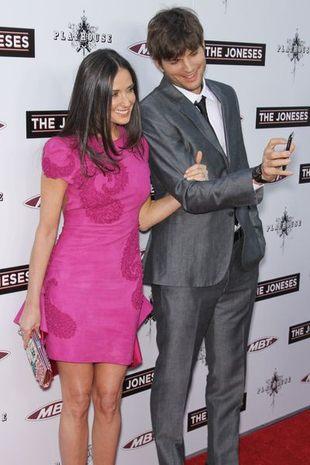 Demi Moore chciałaby mieć dzieci z Ashtonem?