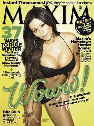 Jenni J-Woww Farley na okładce Maxima (FOTO)