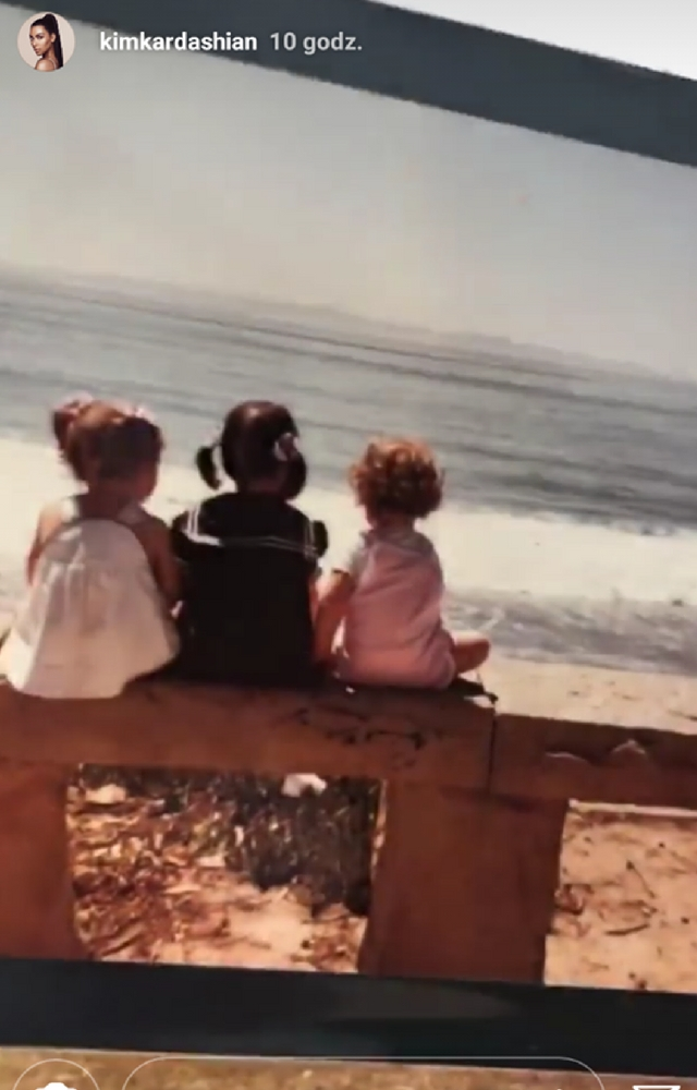 Kim Kardashian pokazuje zdjęcia z dzieciństwa! Była słodkim maluchem
