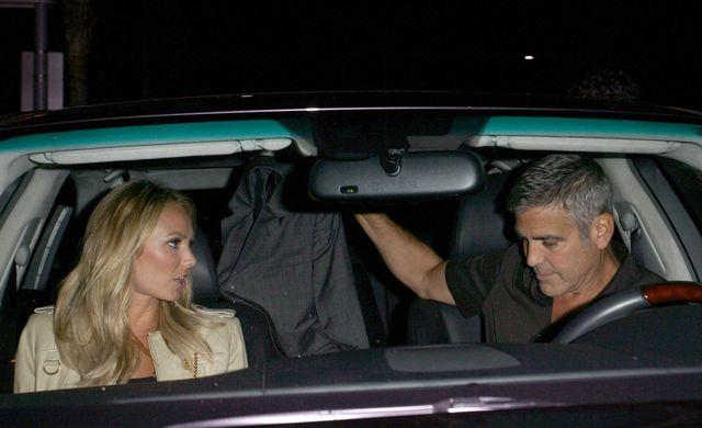 Status związku Georga Clooneya i Stacy Keibler: