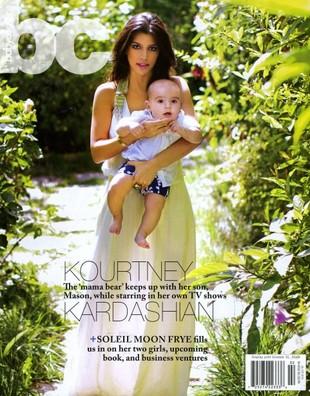 Kourtney Kardashian znowu pokazuje synka (FOTO)
