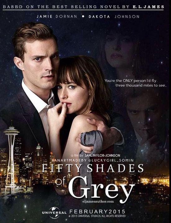 W 50 twarzach Greya nie będzie sceny z tamponem