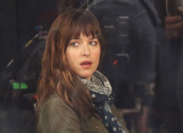 Pierwsze zdj�cia z planu 50 twarzy Greya!