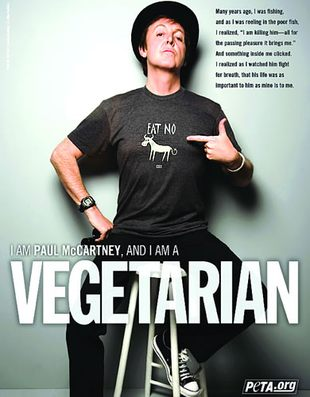 Paul McCartney dla PETA