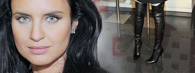 Joanna Horodyńska nosi kozaki za 1600 dolarów