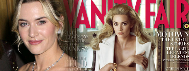 Kate Winslet powraca piękna i naga