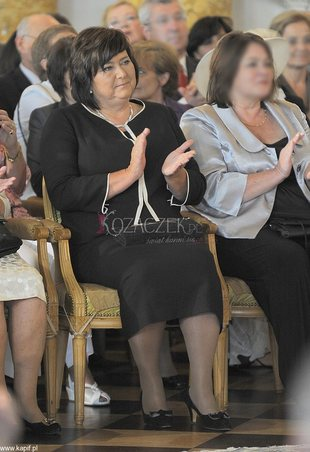 Anna Komorowska oficjalnie w roli pierwszej damy (FOTO)