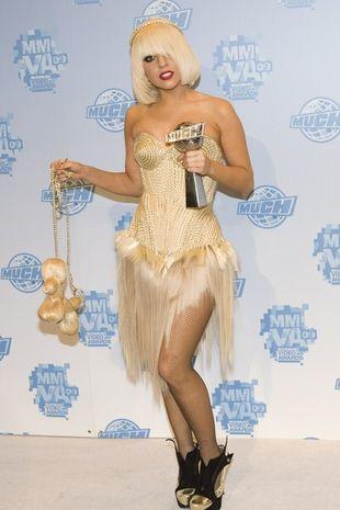 Lady Gaga tym razem w porożu