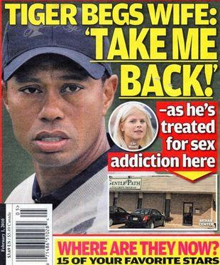 Tiger Woods leczy się z uzależnienia od seksu!