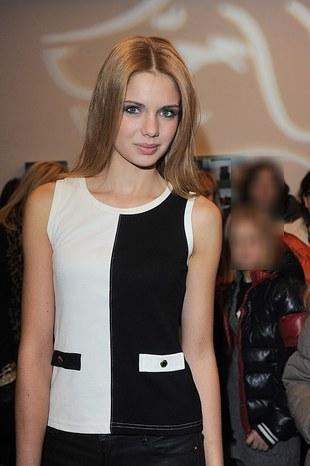 Nowa Top Model, Olga Kaczyńska, na salonach (FOTO)