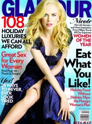 Nicole Kidman dla Glamour