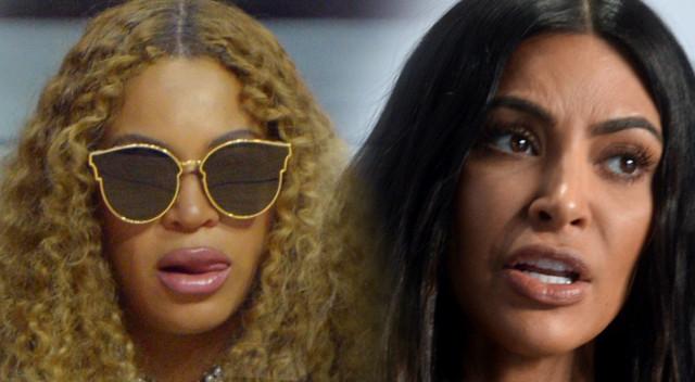 Kim pozuje z kochanką Jaya Z. Beyonce nigdy jej nie wybaczy!