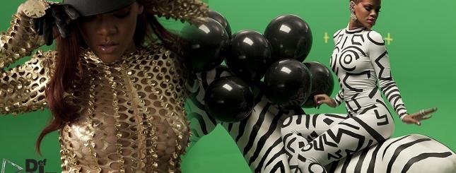 Zdjęcia promujące nowy singiel Rihanny - Rude Boy (FOTO)