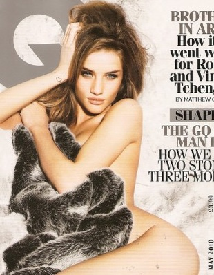 Dzika Rosie Huntington-Whiteley (FOTO)