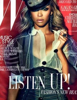Beyonce w magazynie W i Vogue Uomo (FOTO)