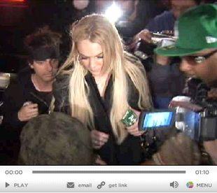 Lindsay Lohan zarabia na nałogu