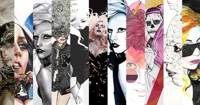 Rysunkowa Lady Gaga (FOTO)
