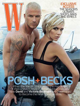 Beckhamowie na zakupach erotycznych