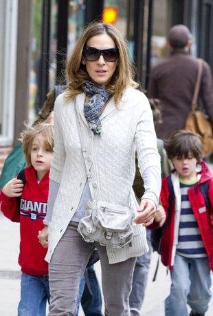 Sarah Jessica Parker - mama na luzie (FOTO)
