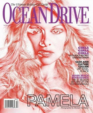 Pamela Anderson dla magazynu Ocean Drive