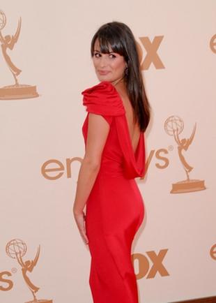 Lea Michele uwielbia być w centrum uwagi (FOTO)