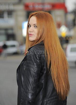 Dominika Gawęda z płomieniem we włosach (FOTO)