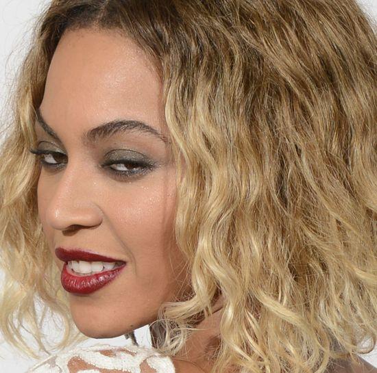 Zoom na twarz Beyonce